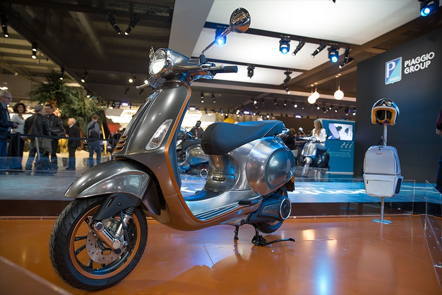 New Vespa Elettrica Revealed at EICMA 2017 Loves the