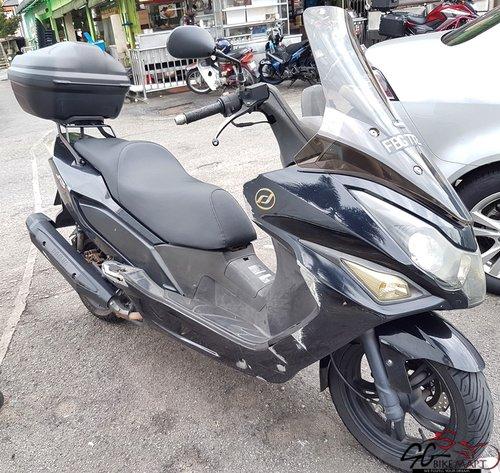 Used Daelim S3 SV250 CVT bike for Sale in Singapore - Price
