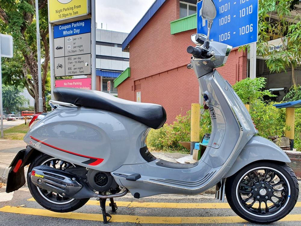 Used Vespa Sprint 150 bike for Sale in Singapore - Price
