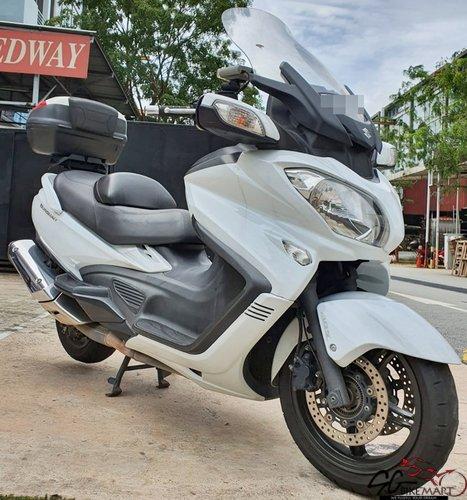 Used Suzuki Burgman 650 Executive Abs bike for Sale in ...