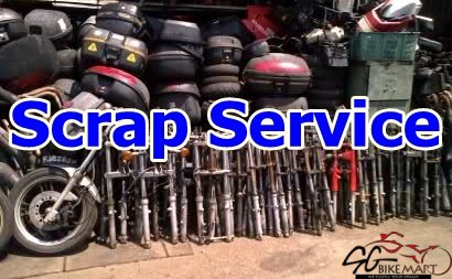 Scrap Service For Your Used Motorbike for Sale in Singapore