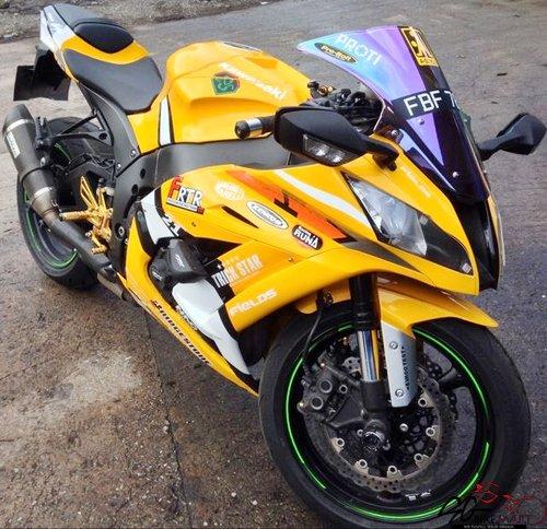 Used Kawasaki ZX10R Ninja bike for Sale in Singapore - Price