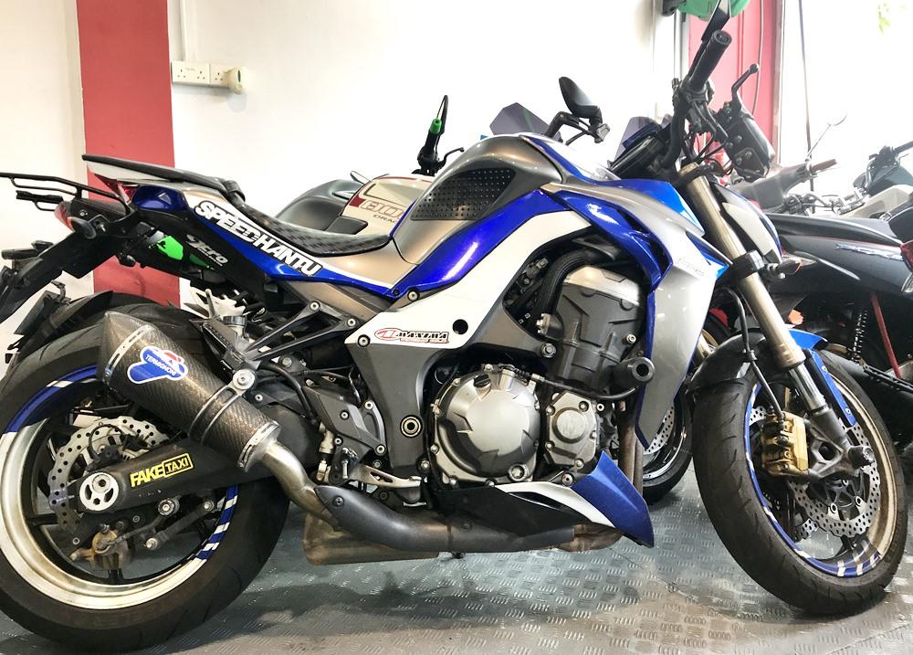 Used Kawasaki Z1000 Bike For Sale In Singapore Price Reviews