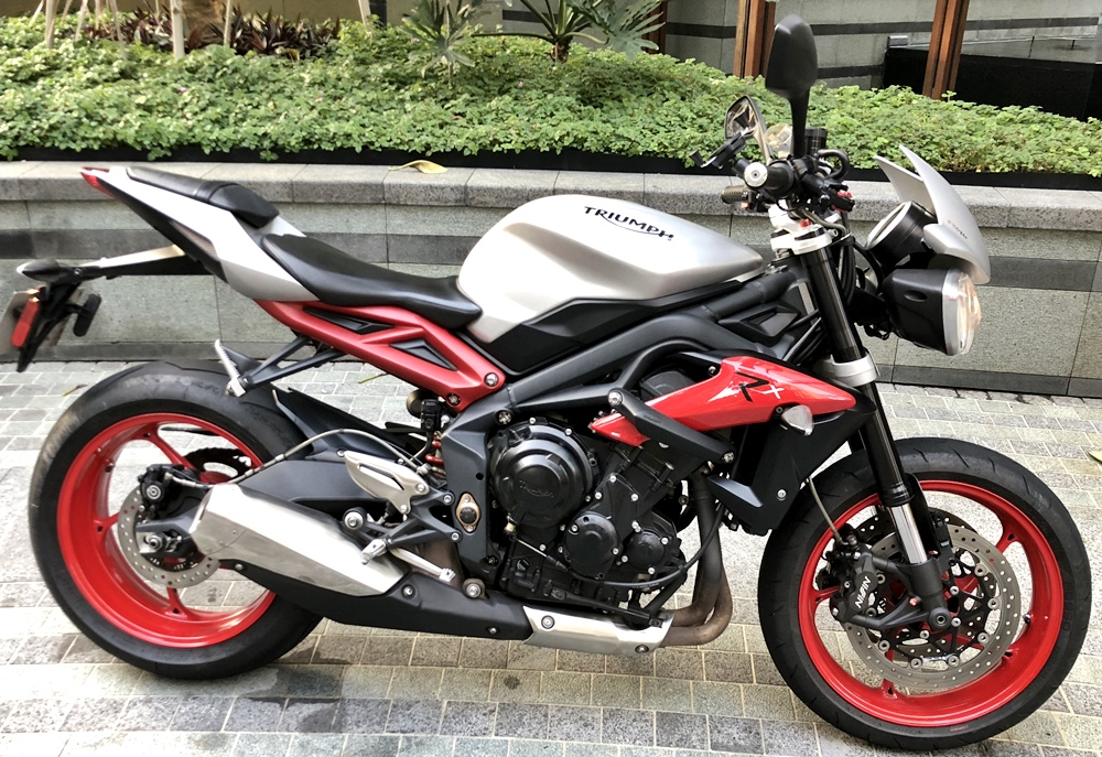 Used Triumph Street Triple Rx Se Abs For Sale In Singapore Price